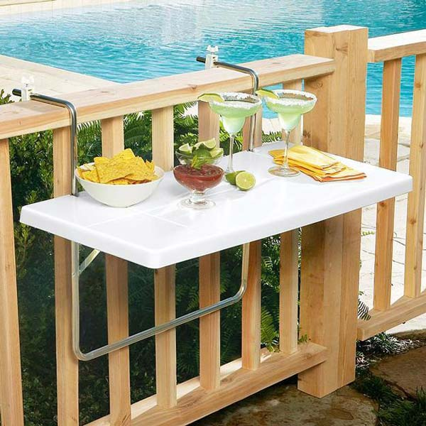 tiny balcony furniture 9 2 - Patio Furniture Ideas