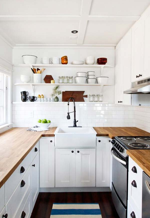 19 Practical U-Shaped Kitchen Designs for Small Spaces on u shape chairs, u shape kitchen cabinet, u shape apartment design, u shape countertop designs, u design kitchen designs, u shape storage, u shape hardware, u shape contemporary kitchen, u shape kitchen sizes, u shape art, u shape kitchen models,