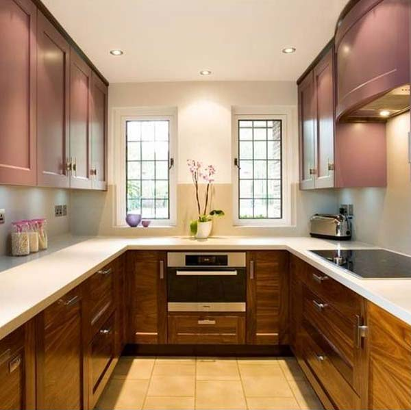 Interior Design Ideas For Home: 19 Practical U-Shaped Kitchen Designs For Small Spaces