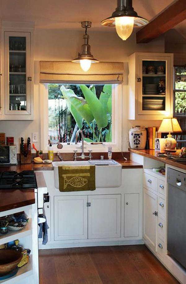 19 practical u shaped kitchen designs for small spaces amazing diy interior home design - Kitchen cabinet ideas small spaces photos ...