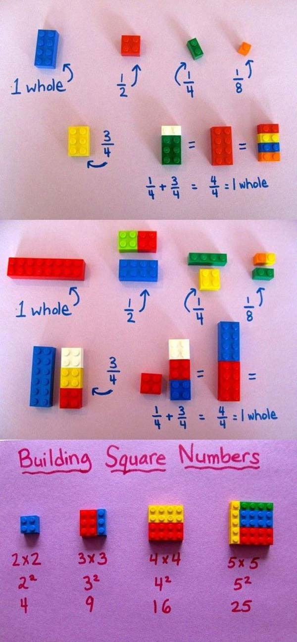 Teach Basic Math Concepts Using LEGO Toys As Simple As a Game ...