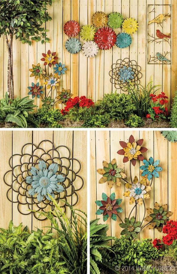 Truly Easy and Low-budget DIY Garden Art Flowers - Amazing DIY ...