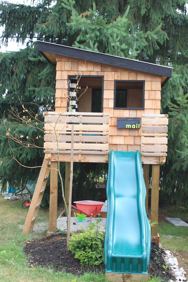 16 fabulous backyard playhouses sure to delight your kids - Playhouse Designs And Ideas