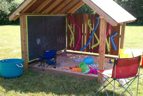 Backyard Playroom For Kids 19