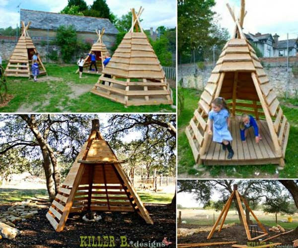 8 Backyard Ideas To Delight Your Dog: 16 Fabulous Backyard Playhouses Sure To Delight Your Kids