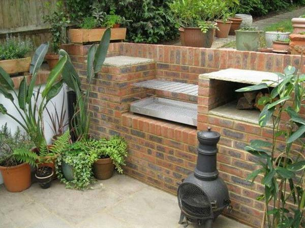 cool diy backyard brick barbecue ideas amazing diy interior home design. Black Bedroom Furniture Sets. Home Design Ideas