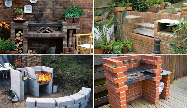 Cool DIY Backyard Brick Barbecue Ideas - Amazing DIY, Interior ...