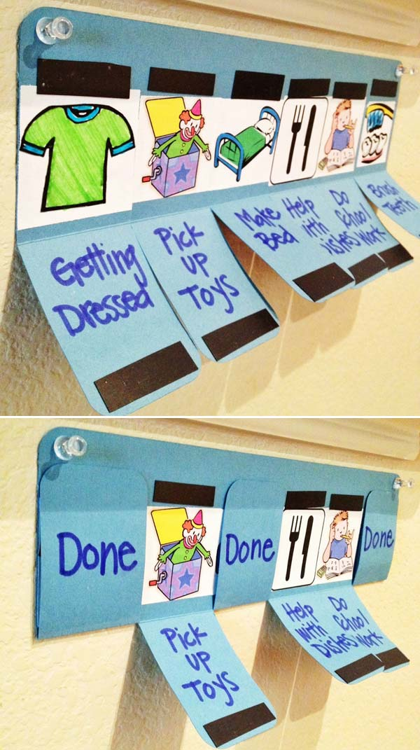 Lovely Diy Chore Charts For Kids Amazing Diy Interior Home Design