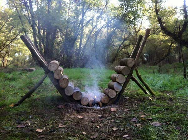 Self-feeding Campfire Will Last As Many As 14 Hours