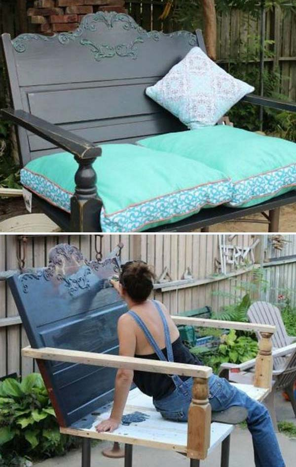 Repurposing Old Furniture awesome old furniture repurposing ideas for your yard and garden