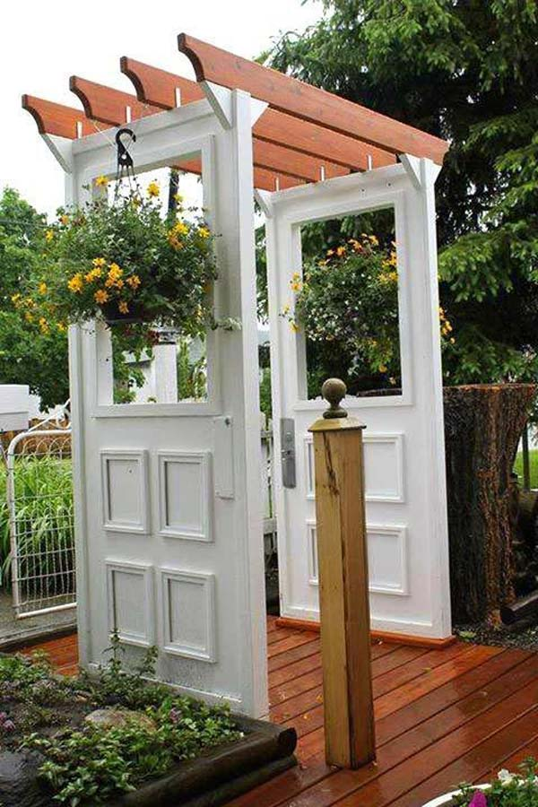 furniture repurpose ideas. Repurposed-furniture-garden-yard-11 Furniture Repurpose Ideas A