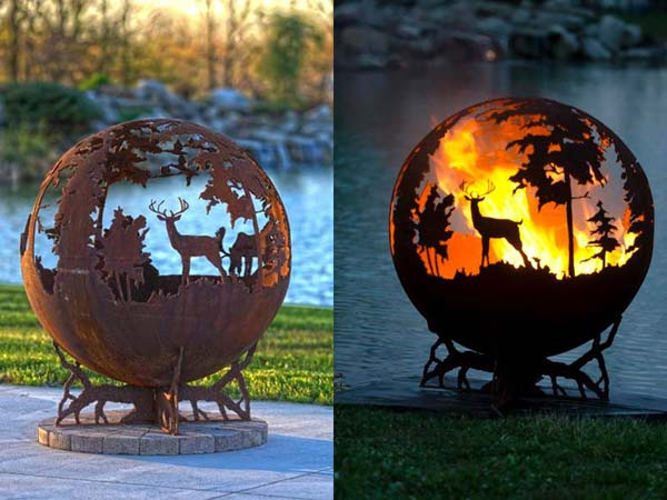 20 Amazing Diy Ideas For Outdoor Rusted Metal Projects Amazing Diy Interior Amp Home Design