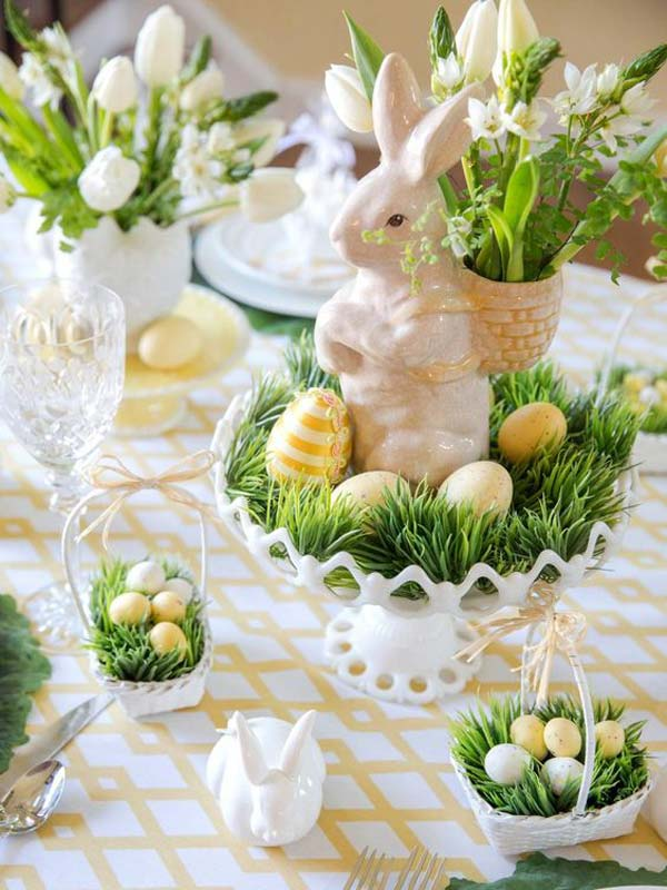 Image result for easter table setting public domain