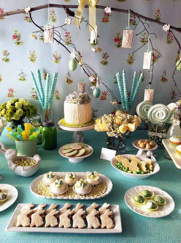 top 47 lovely and easy-to-make easter tablescapes