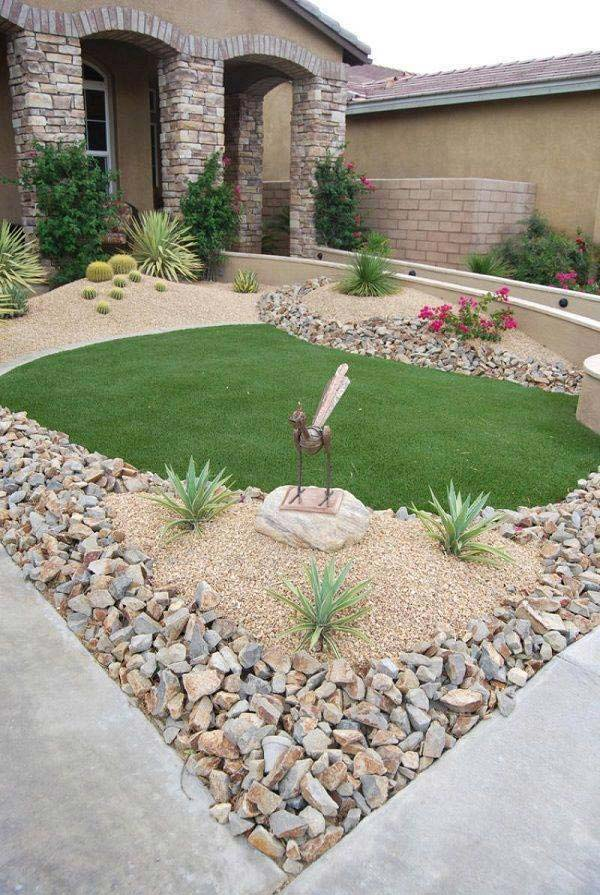 25 Cool Pebble Design Ideas For Your Courtyard   Amazing DIY ...