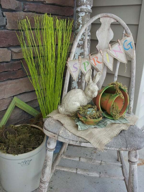 easter outdoor decor ideas 13 - Easter Decorating Ideas