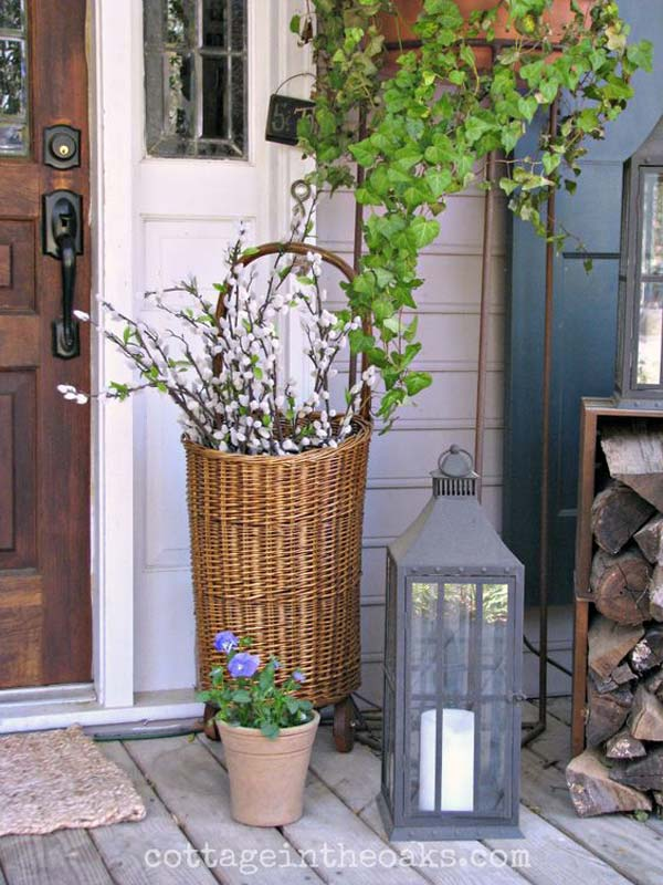 29 Cool DIY Outdoor Easter Decorating Ideas - Amazing DIY ... on Backyard Garden Decor id=71463