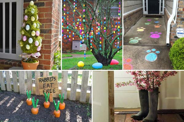 29 cool diy outdoor easter decorating ideas - Easter Decorating Ideas