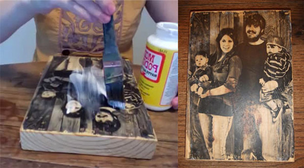 Transferring Your Favorite Photos to Wood