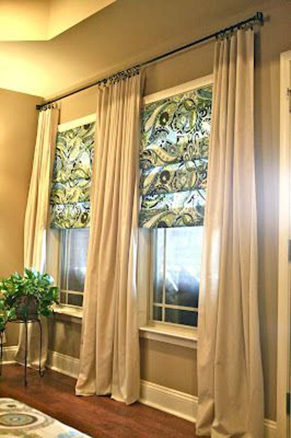 the most 22 cool no sew window curtain ideas 80861