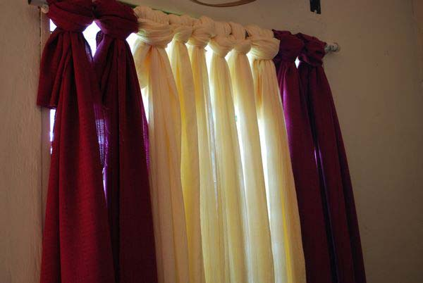 diy no sew curtains the most 22 cool no sew window curtain ideas amazing diy