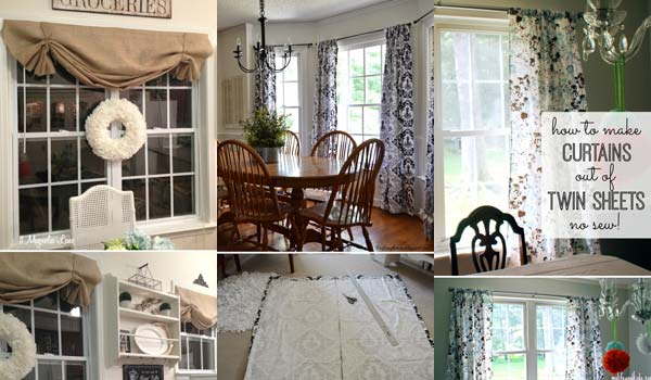 The Most 22 Cool No-Sew Window Curtain Ideas