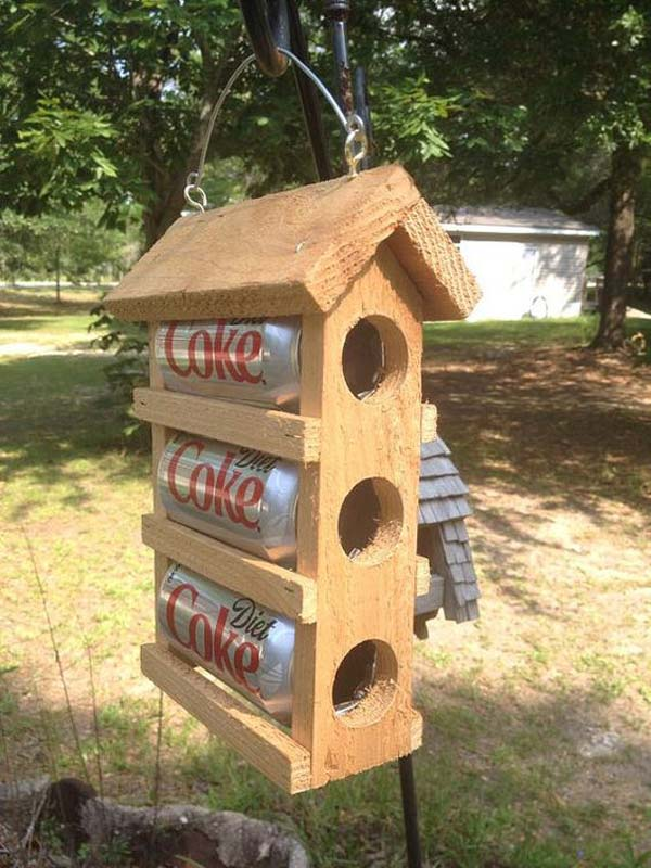 Awesome DIY Bird Houses For A Garden Amazing