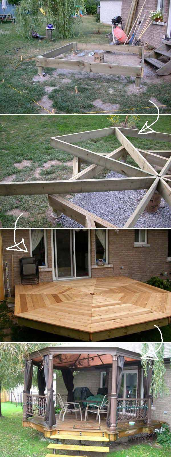 Diy Floating Deck Woohome 4
