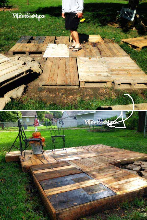 Diy Floating Deck Woohome 9