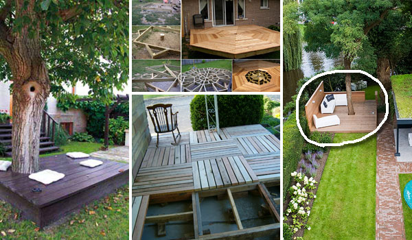 Diy Floating Deck Woohome