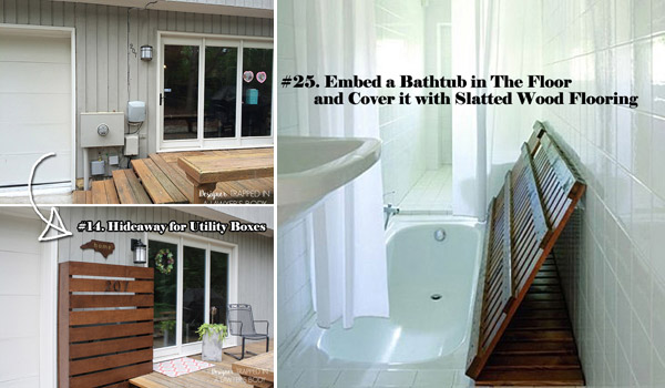 Lovely 25 Clever Hideaway Projects You Want To Have At Home