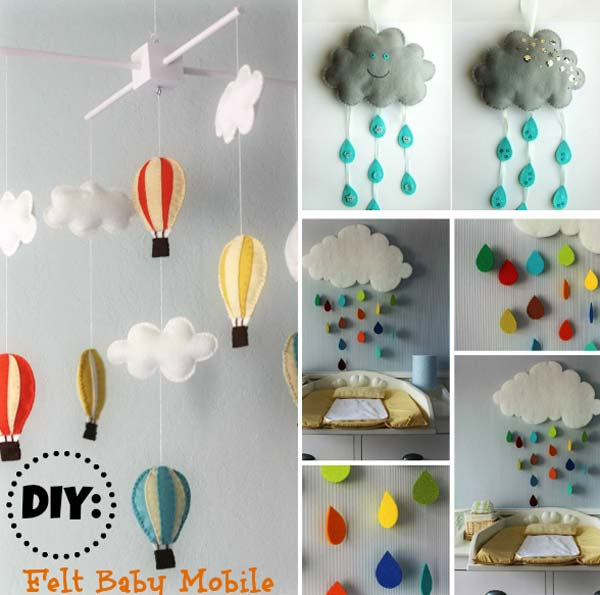 Decorating-ideas-for-Nursery-17 & 22 Terrific DIY Ideas To Decorate a Baby Nursery - Amazing DIY ...