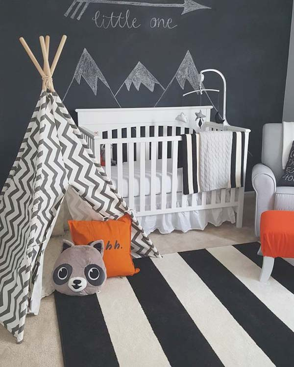 Terrific DIY Ideas To Decorate A Baby Nursery Amazing DIY - Baby boy nursery decorating ideas