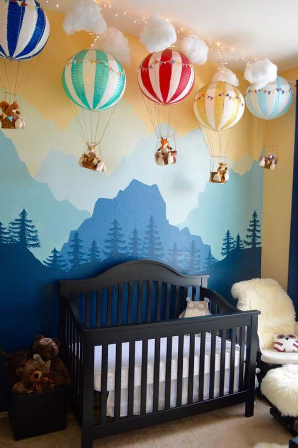 Decorating 22 terrific diy ideas to decorate a baby nursery