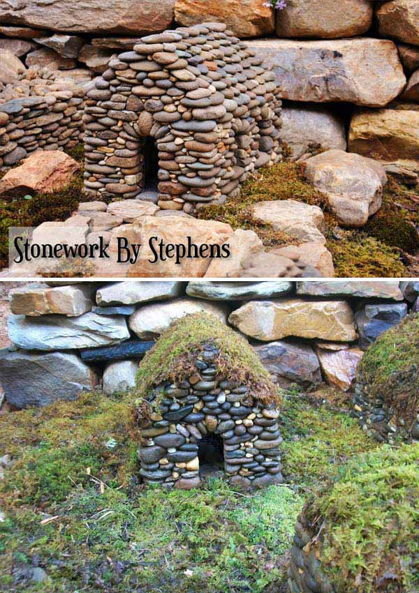 17 cutest miniature stone houses to beautify garden this summer mini garden stone houses 6 workwithnaturefo