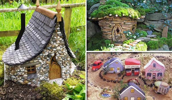 17 cutest miniature stone houses to beautify garden this summer amazing diy interior home Diy home design ideas pictures landscaping