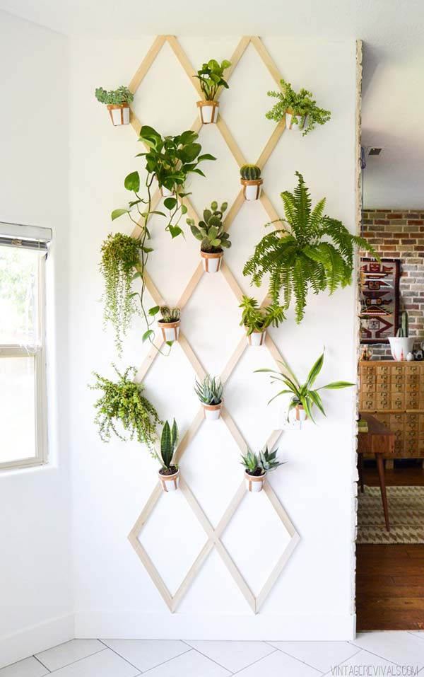 vertical indoor gardening