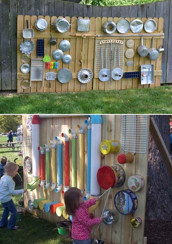 Backyard Playground Diy : Turn The Backyard Into Fun and Cool Play Space for Kids