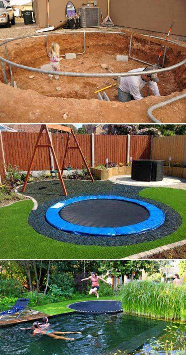 Turn the backyard into fun and cool play space for kids for Play yard plans