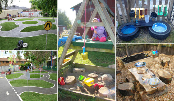 Turn The Backyard Into Fun And Cool Play Space For Kids Amazing Diy Interior Home Design
