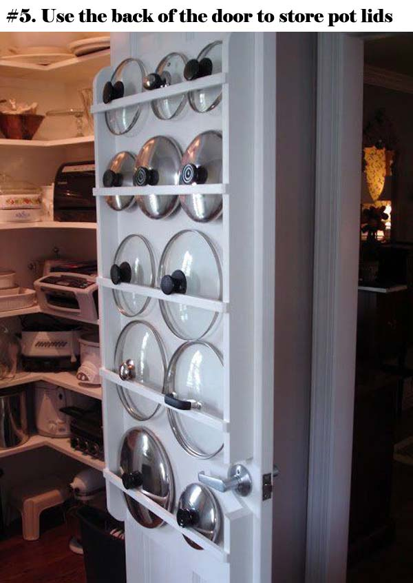 The Most Genius Ideas To Organize Your Pot Lids Amazing Diy Interior Amp Home Design