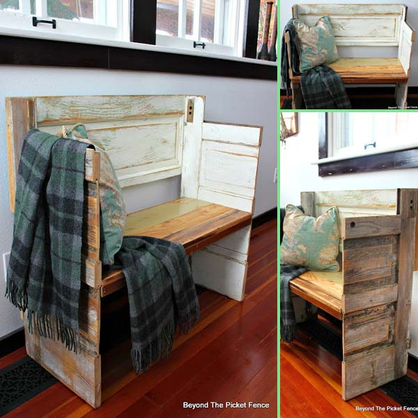 The Best 35 No Money Ideas To Repurpose Old Doors