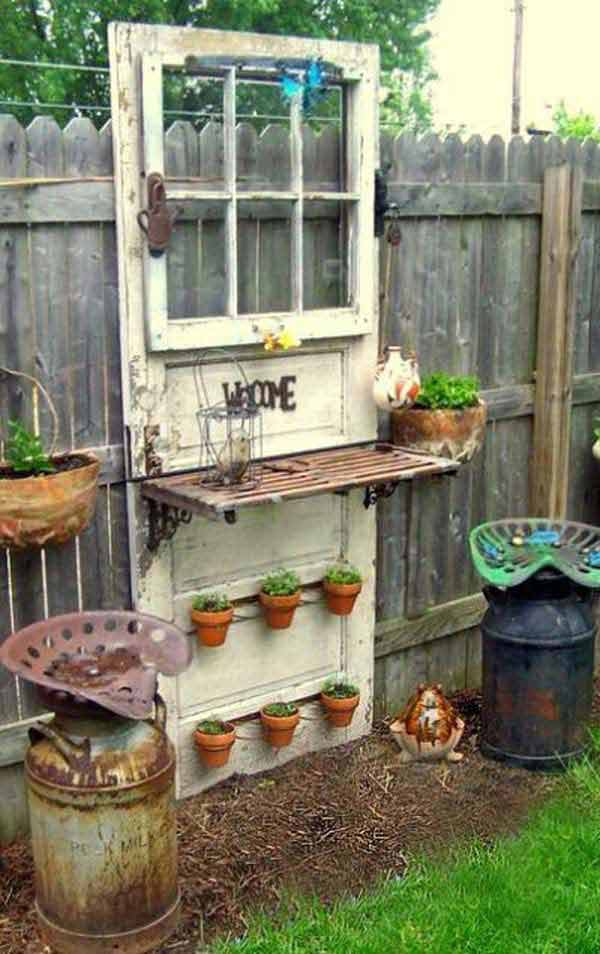 The Best 35 No Money Ideas To Repurpose Old Doors Page 2