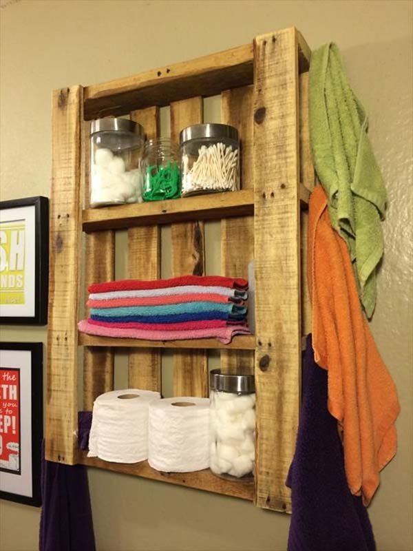 The Best 24 Diy Pallet Projects For Your Bathroom