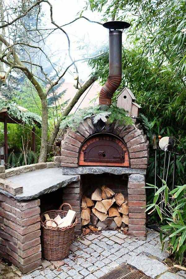 DIY Ideas For Creating Cool Garden or Yard Brick Projects ... on Brick Ideas For Backyard id=12404