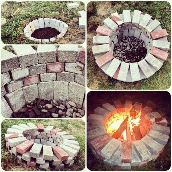 Garden Ideas With Bricks diy ideas for creating cool garden or yard brick projects