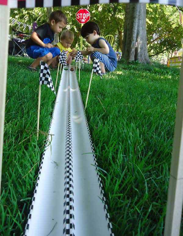 20 easy pvc pipe projects for kids summer fun amazing for Diy pvc projects