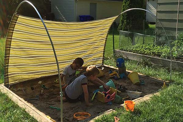 Backyard Canopy Diy : 20 Easy PVC Pipe Projects for Kids Summer Fun