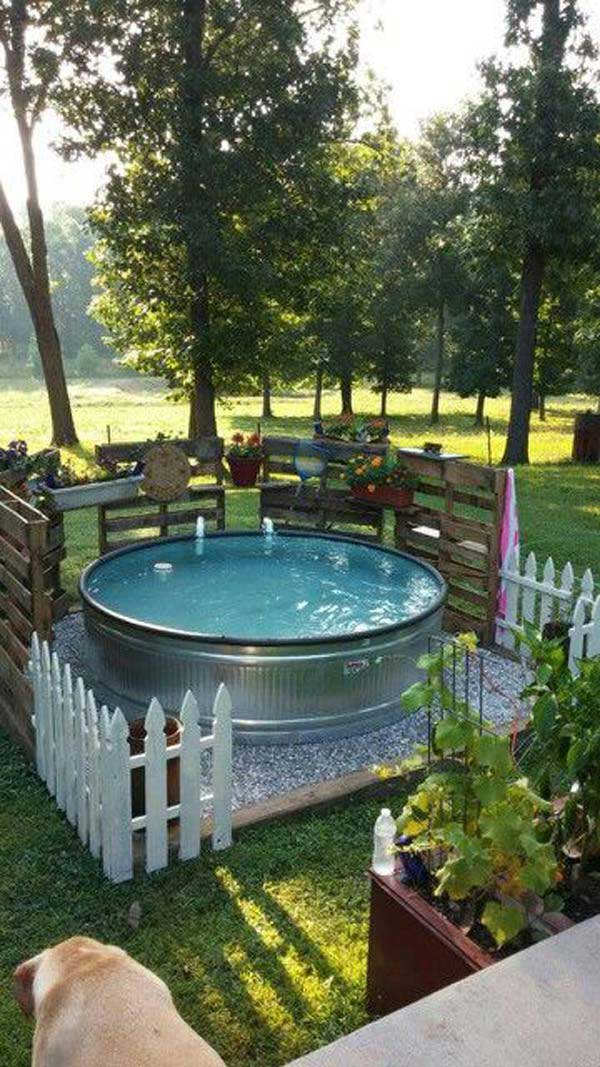 galvanized-stock-tank-pool-ideas-woohome-2
