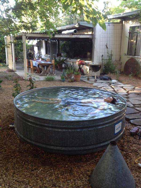 galvanized-stock-tank-pool-ideas-woohome-4